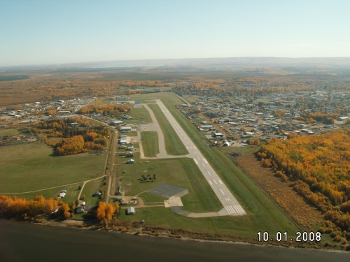 Runway 10 Approach Oct 2008