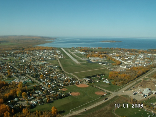 Runway 28 Approach Oct 2008